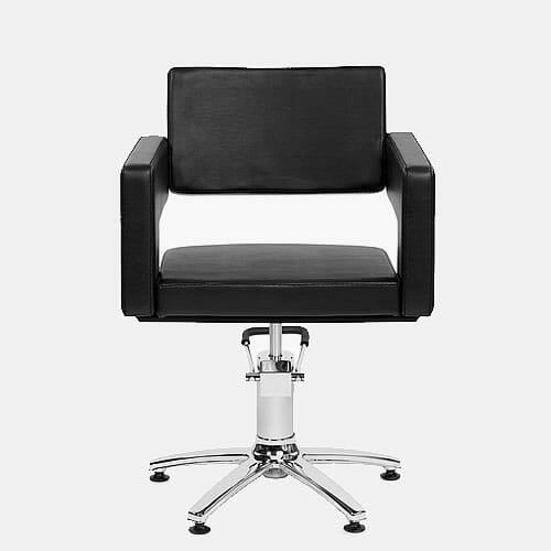 Odeon Black Hydraulic Styling Chair