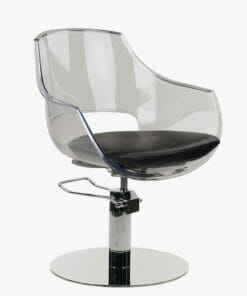 Ayala Ghost Hydraulic Styling Chair