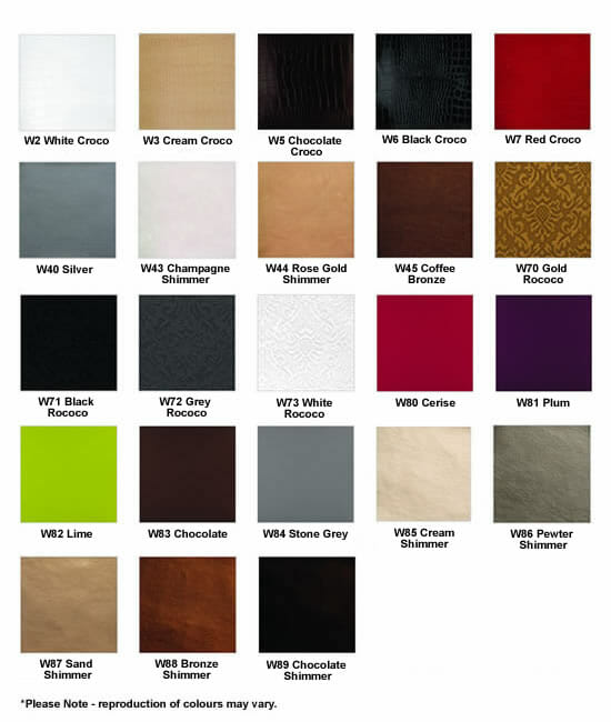 Ayala Luxury Colour Chart
