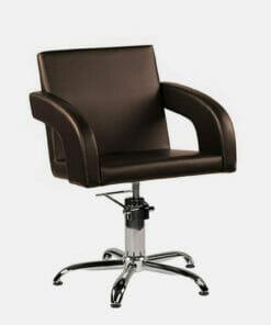 Ayala Tina Hydraulic Dark Brown Styling Chair Special