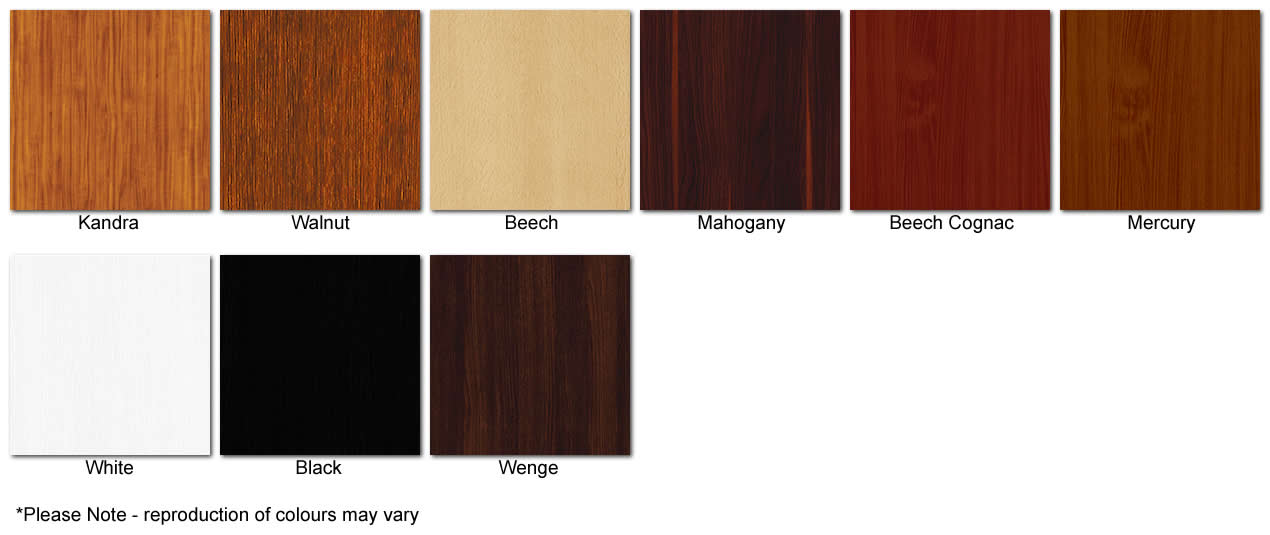 Ayala Wooden Leg Colour Chart