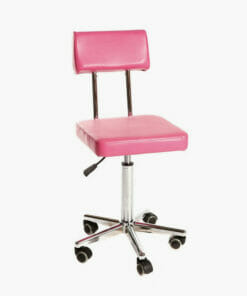 Crewe Orlando Pink Therapist Stool