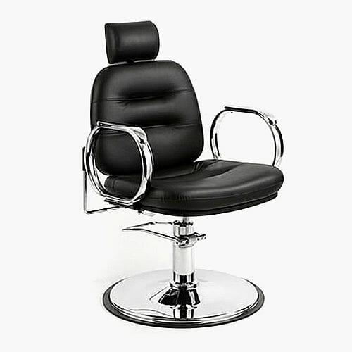 WBX Comforto Hydraulic Chrome Threading Chair