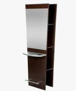 Crewe Orlando Antigua Mirror Wall Storage Unit
