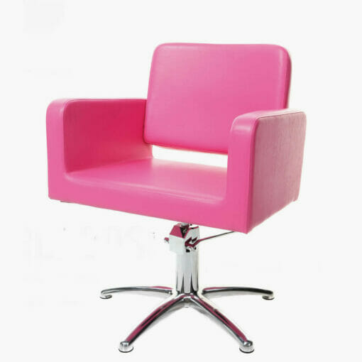 Crewe orlando barbados hydraulic styling chair direct for Modern salon furniture packages