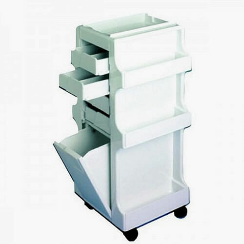 Direct salon furniture skinmate elite waxing trolley for Wax chair salon