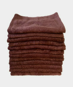 Feel For Hair Chocolate Suede Hairdressing Towels