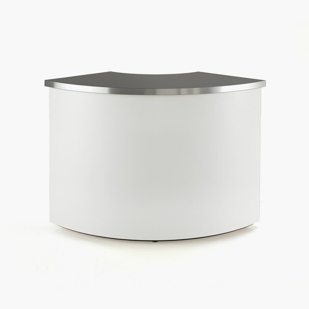 Rem Helix Reception Desk Curved Section Direct Salon