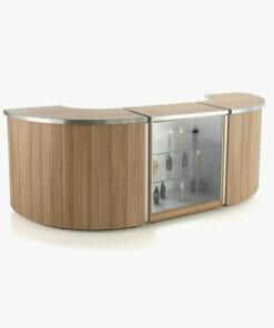 REM Helix Retail Reception Desk Complete