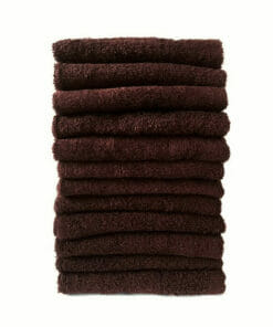 HT Gaddam Bitter Chocolate Salon Towels Pack 12