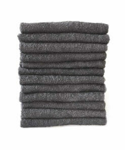 Majestic Chlorine Resistant Steel Grey Towels Pack 12