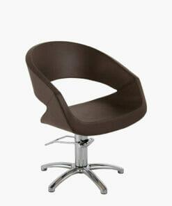 Maletti Caruso Brown Hydraulic Styling Chair