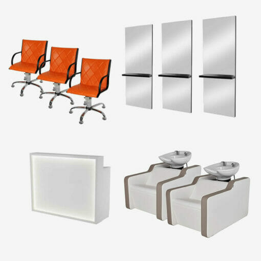 Mila Salon Furniture Package C