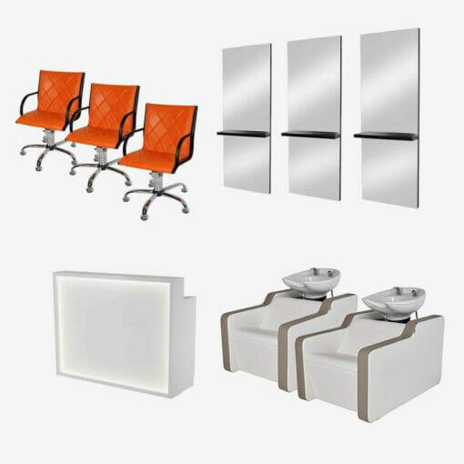 Furniture Package 2: Mila Salon Furniture Package C