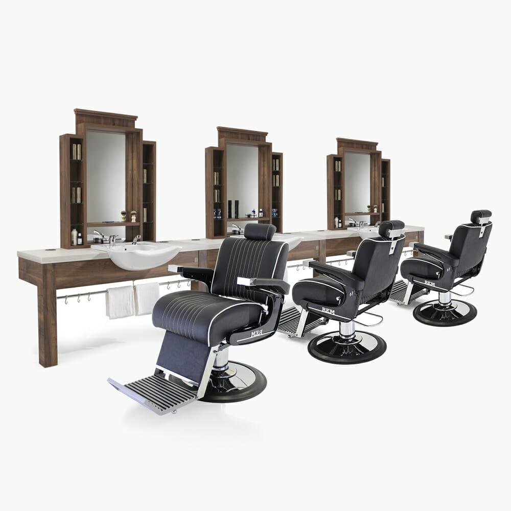 Shop Furniture Direct: REM Montana Barbers Furniture Package