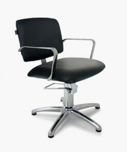 REM Atlas Hydraulic Styling Chair in Black