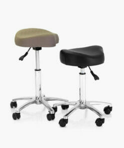 REM Mustang Stool In Coloured Upholstery