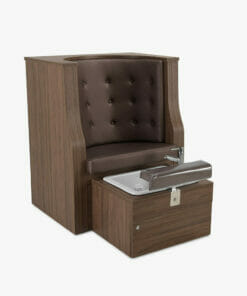 REM Plaza Back Pedibooth Chair With Whirlpool