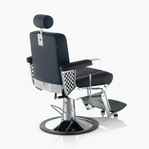 REM Viscount Barbers Chair in Coloured Upholstery