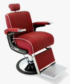REM Voyager Barbers Chair In Coloured Upholstery