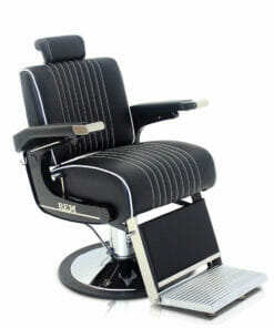 REM Voyager Black Barbers Chair - EXPRESS DELIVERY
