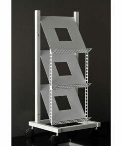 Riley Square 3T Magstakk Mobile Magazine Rack