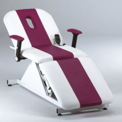 Rem Excel 3 Motor Beauty Couch In White Direct Salon