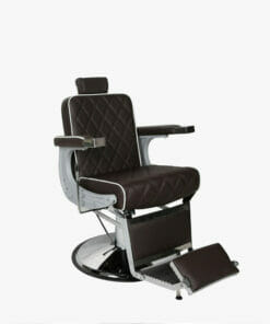 Salon Fit Chrysler Brown Barbers Chair