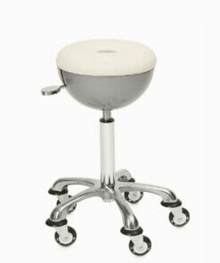 Sibel Sphere Gas Lift Stylist Stool