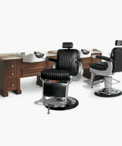 Takara Belmont Apollo Barbers Furniture Package