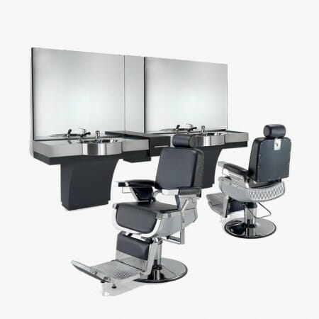 Barber shop furniture packages direct salon furniture uk for Modern salon furniture packages