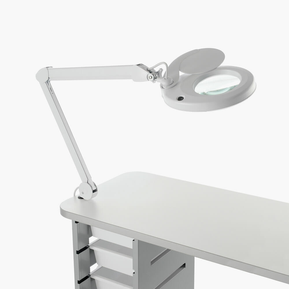 REM Rio LED Table Top Magnifying Lamp | Direct Salon Furniture