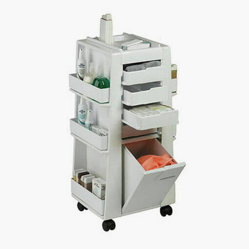 White Beauty Storage Trolley