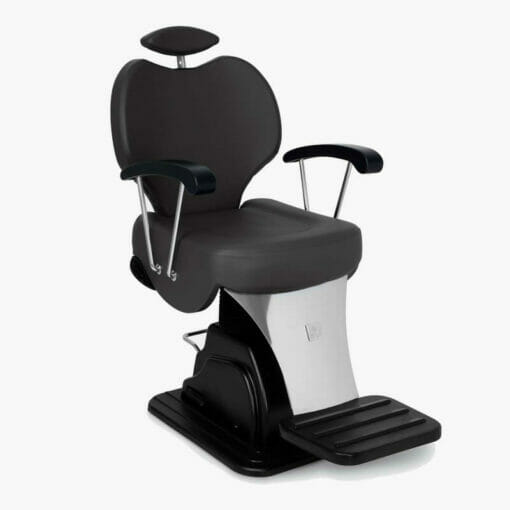 Nelson Mobilier Coach Metal Barbers Chair