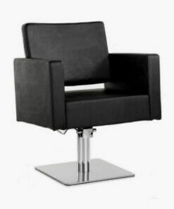 Galaxy Hydraulic Styling Chair in Black