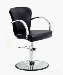 WBX Grande Chrome Hydraulic Styling Chair