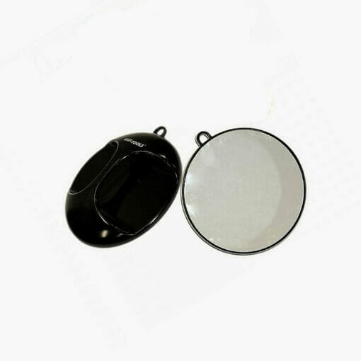 Hair Tools Black Round Mirror with Wall Bracket