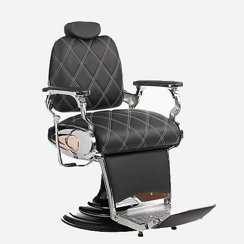 Mila Tiger Diamond Barbers Chair Direct Salon Furniture