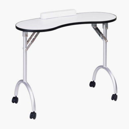 Nail station nail stations direct salon furniture uk for Folding nail technician table