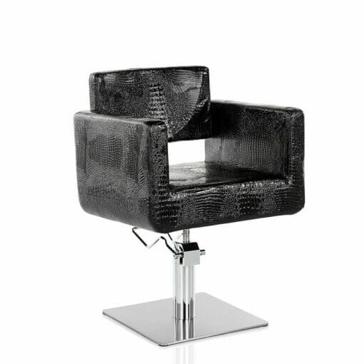Sabre Snake Hydraulic Styling Chair in Black