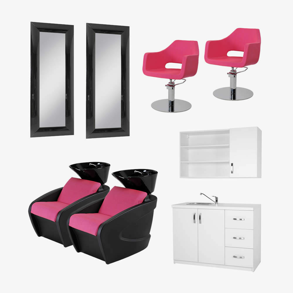 Mila Salon Furniture Package B Direct Salon Furniture