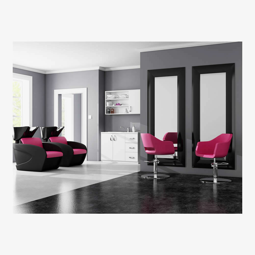Mila salon furniture package b direct salon furniture for Salon furniture