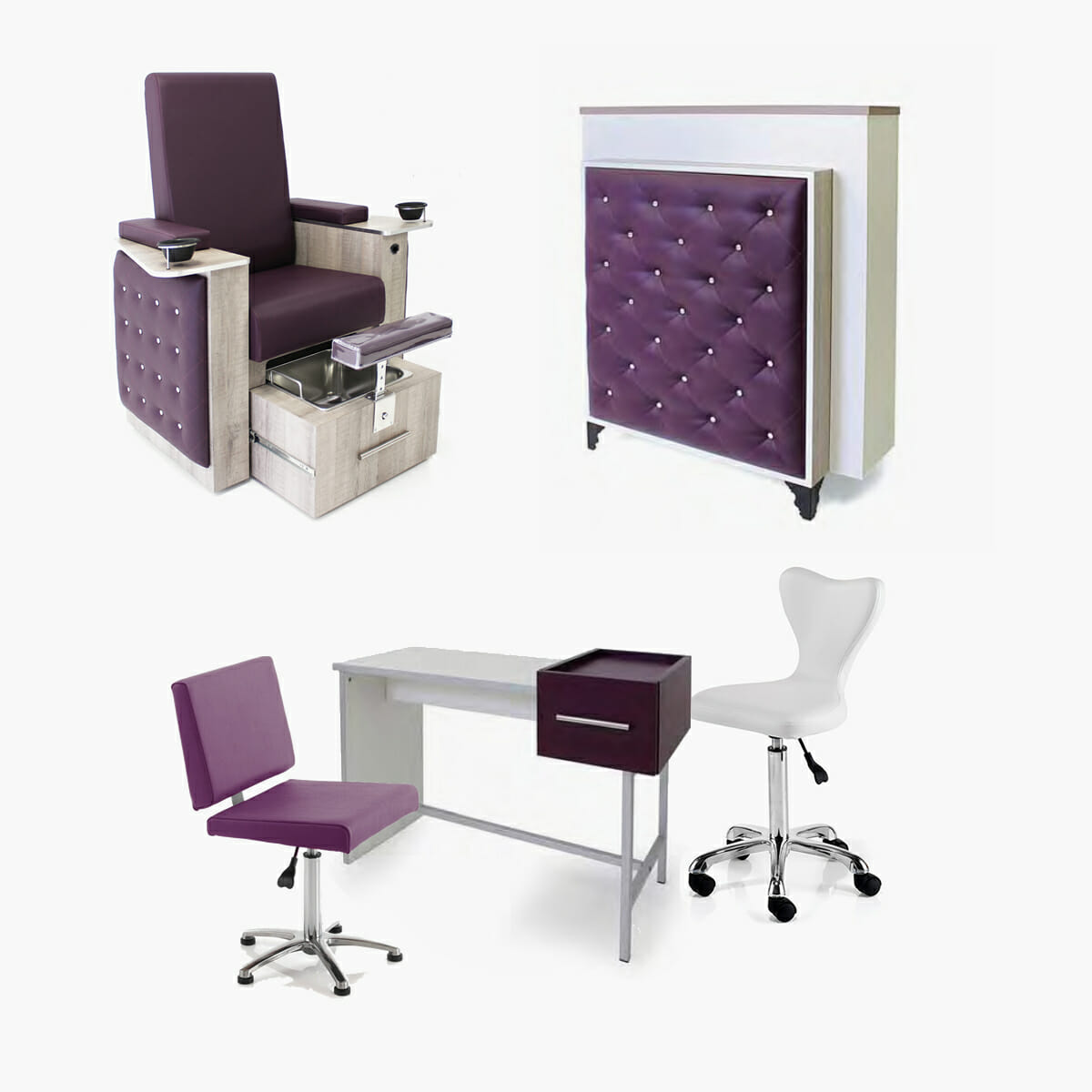 Deals In Furniture: REM Bliss Beauty Furniture Package