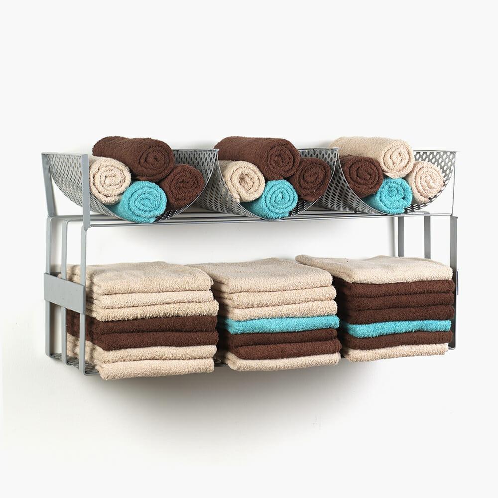 Riley Fold And Roll Towel Rack Direct Salon Furniture