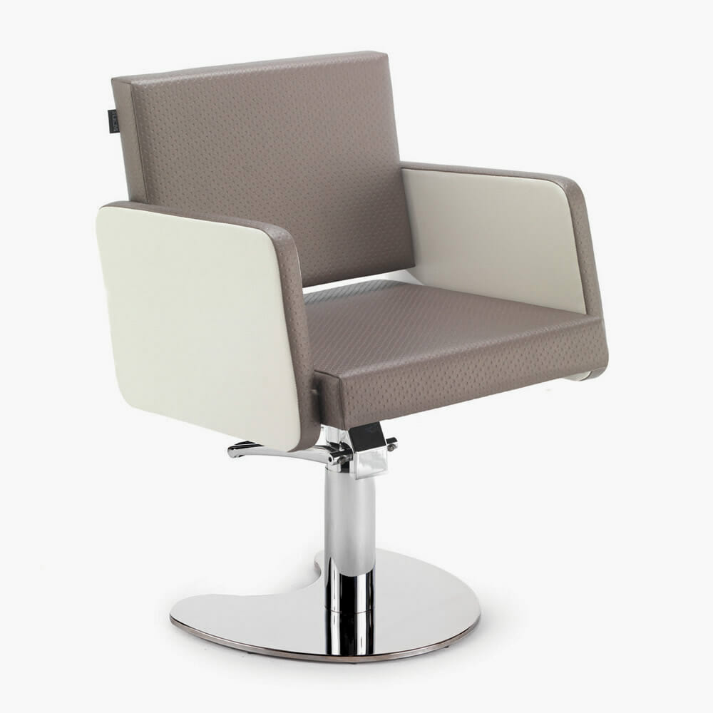 Rem colorado hydraulic styling chair in color direct for Colored salon chairs