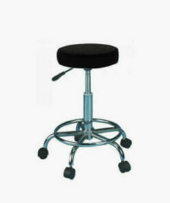 Skinmate Black Compact Beauty Stool