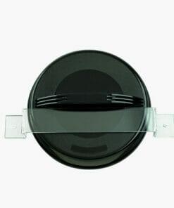 Transparent Mirror Wall Bracket