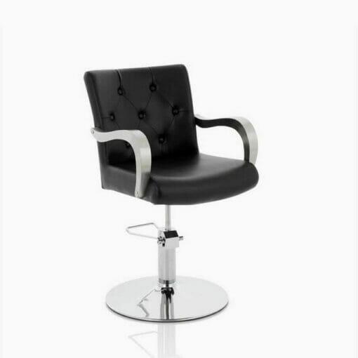 Venus Hydraulic Styling Chair in Black