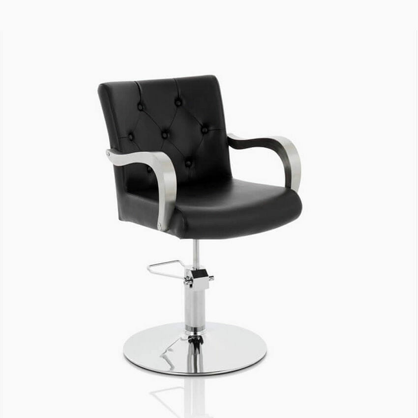 Venus Hydraulic Styling Chair In Black Direct Salon